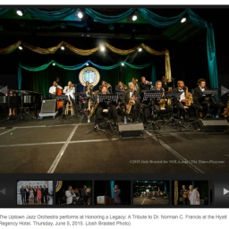 Delfeayo Marsalis, Uptown Jazz Orchestra play Norman Francis Tribute