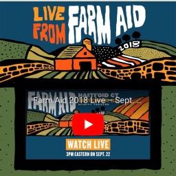 Farm Aid Live Broadcast