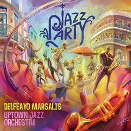 "Uptown Jazz Orchestra Releases ""Jazz Party"""